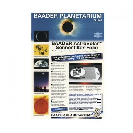 Lámina Astrosolar visual 20x29cm