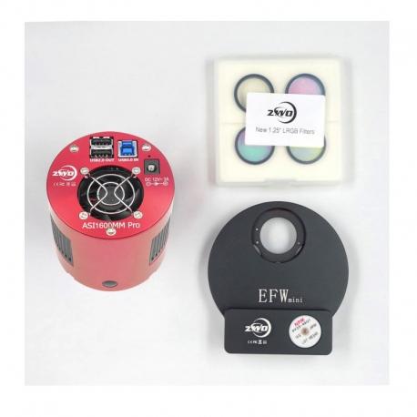 KIT ASI1600MM Pro+EFW+LRGB 31mm