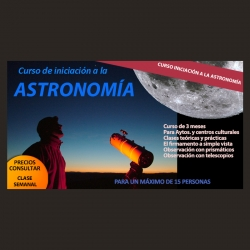 """Curso 3 meses """"Iniciación a la Astronomía"""""""