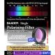 """Filtro polarizador 1"""" 1/4"""
