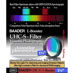 "Filtro UHC-S L Booster 1"" 1/4"