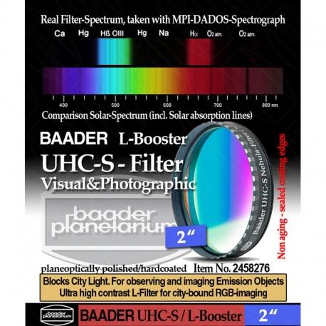 "Filtro UHC-S  L/Booster 2"""