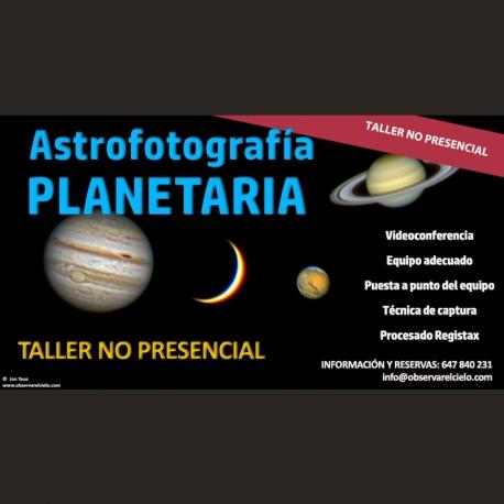 Astrofotografía planetaria NO PRESENCIAL