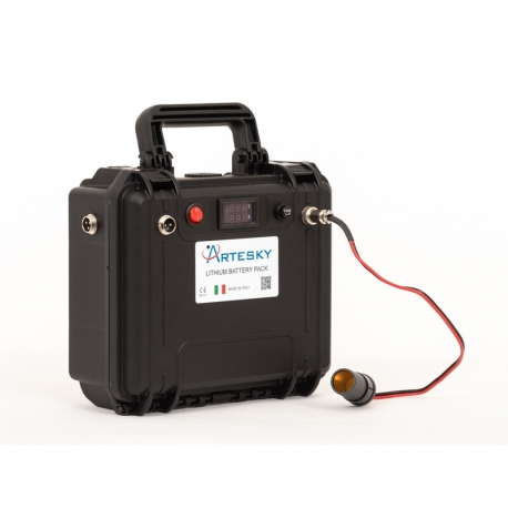 Artesky Powertank Litio 48Ah 12V