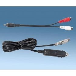 cable alimentación RCA
