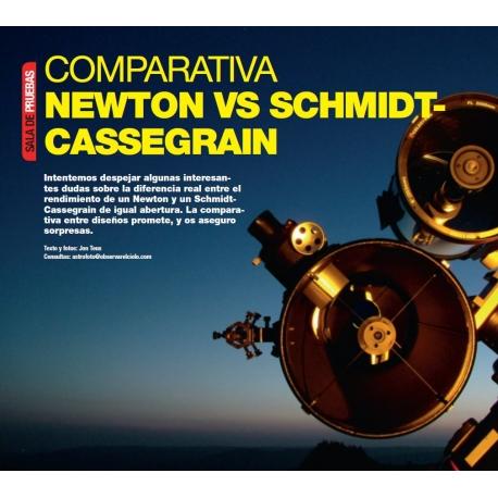 Comparativa Cassegrain - Newton I