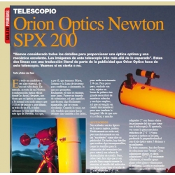 Orion-Optics SPX-200 f/8 Hilux 1/10pv