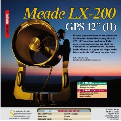 """Meade LX200 SC 12"""" (2ª parte)"""