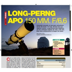 Long-Perng 150mm f/6.6 triplete
