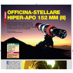 Officina Stellare APO 152mm f/8 (2ª parte)