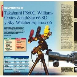 Comparativa FS-60 - WO66ED - SW66EQUINOX (2ª parte)