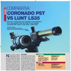 LUNT H-alfa LS35 vs Coronado PST40