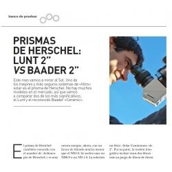 """Prismas de Herschel 2"""" LUNT vs Baader"""