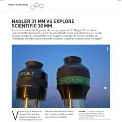 Comparativa TeleVue Nagler 31mm vs Explore-Scientific 30mm