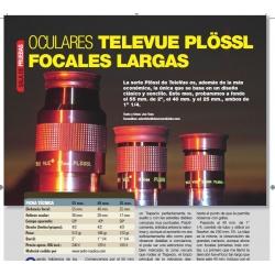 TeleVue Plossl 55mm, 40mm y 25mm