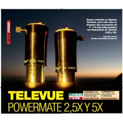 TeleVue Powermate 2.5X y 5X