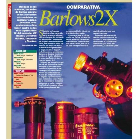"Comparativa Barlows 2X de 1.25"""